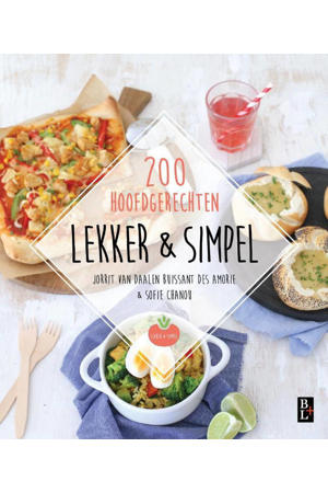 Lekker & simpel - Jorrit van Daalen Buissant des Amorie en Sofie Chanou