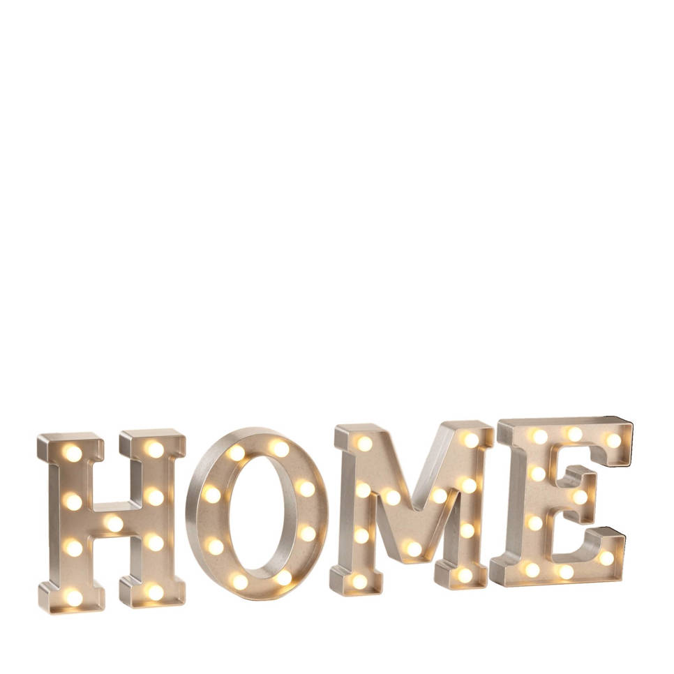 Lumineo letterverlichting HOME (LED)   wehkamp