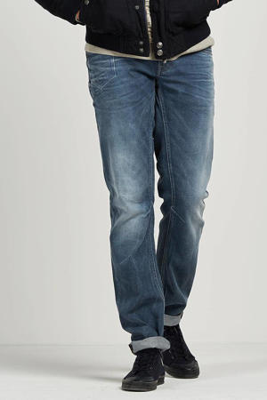tapered fit jeans Skymaster medium used blue grey