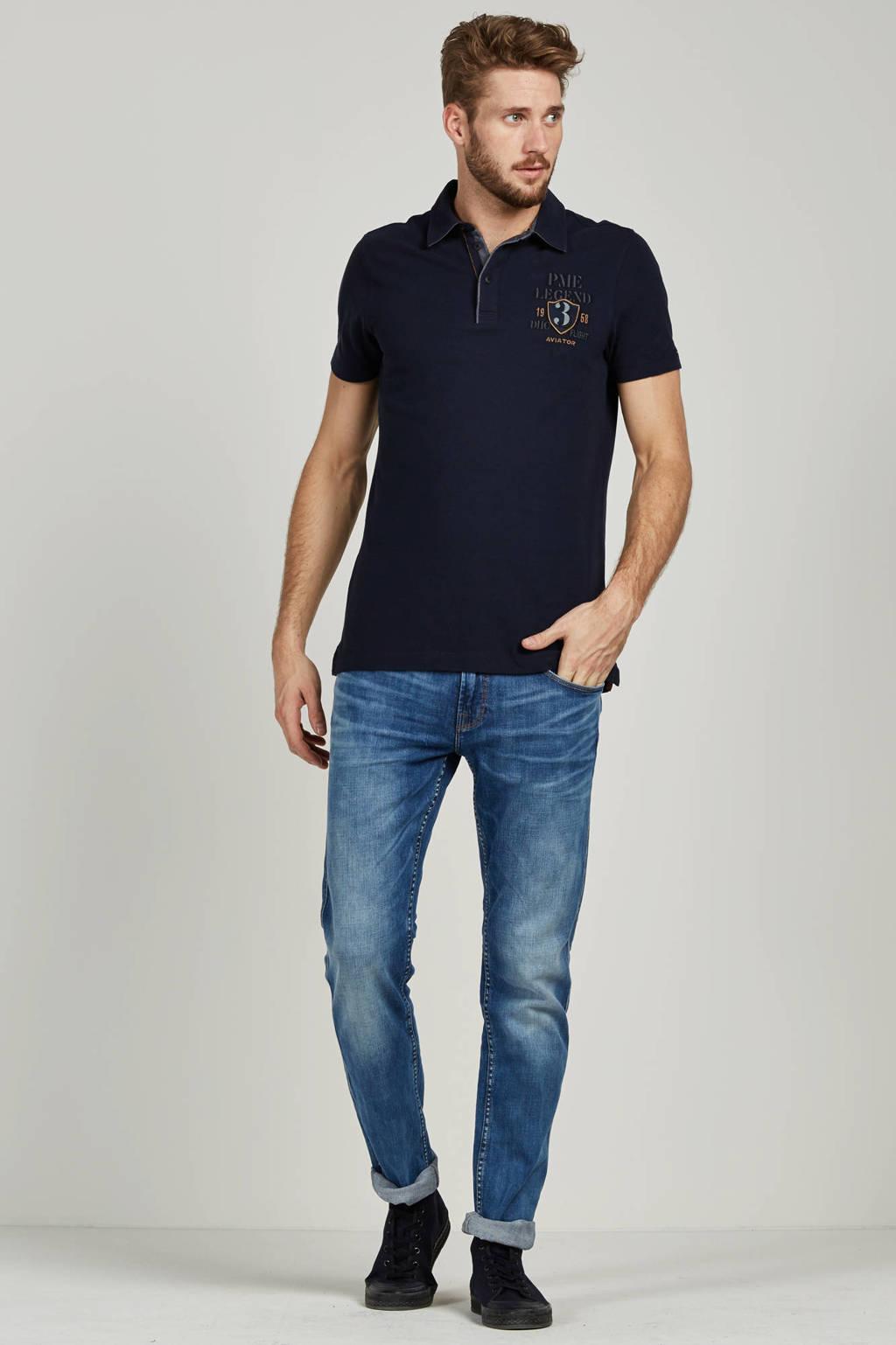 PME Legend slim fit jeans Nightflight, Blauw