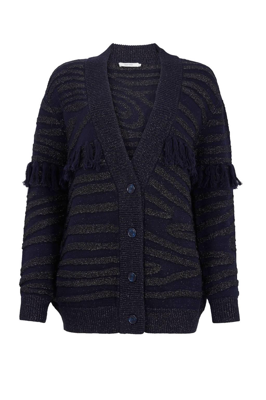 Sissy-Boy vest, Donkerblauw