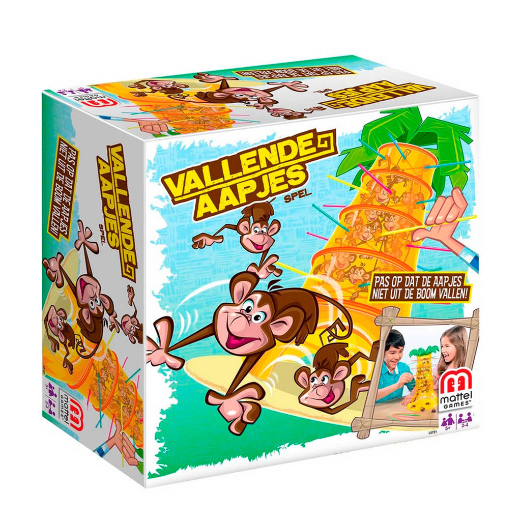 Mattel Vallende aapjes kinderspel