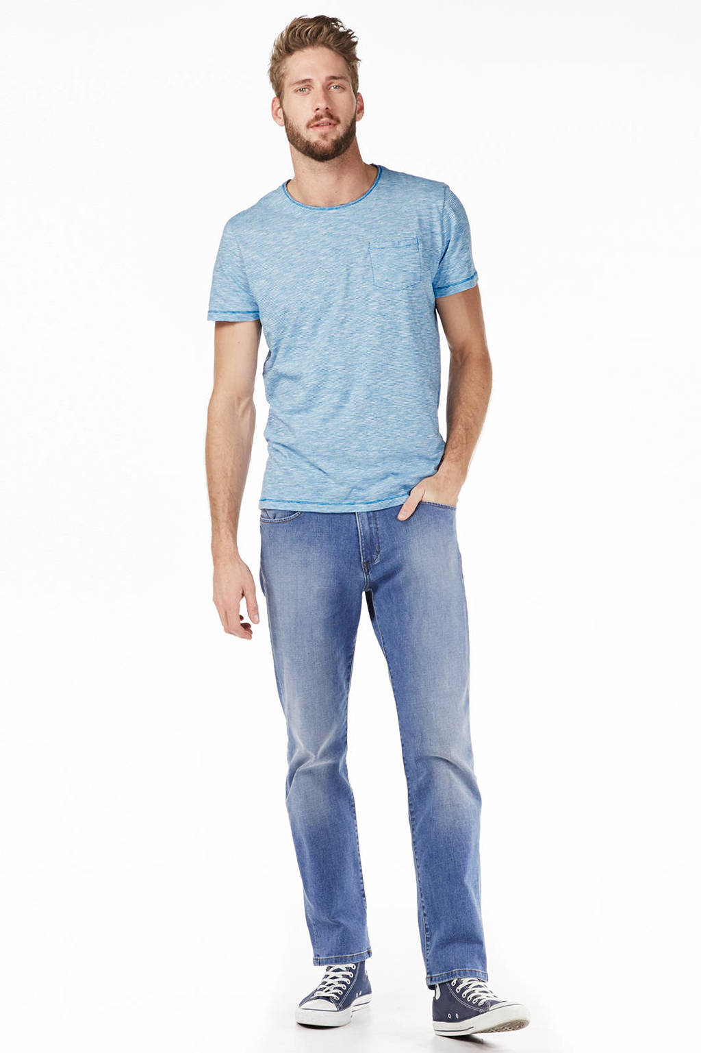 Wrangler Arizona classic straight fit jeans, Tagged Up