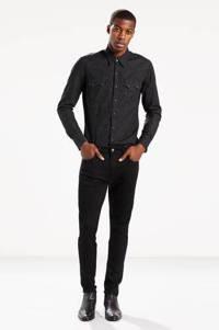 Levi's 512 slim tapered fit jeans black, Black