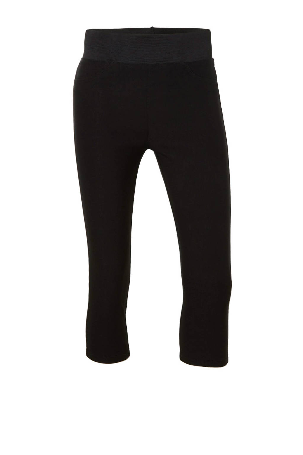 FREEQUENT slim fit capri jeans Shantal black, Zwart