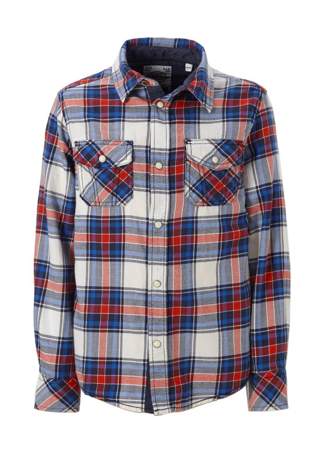 Flanellen Overhemd.C A Here There Flanellen Overhemd Wehkamp