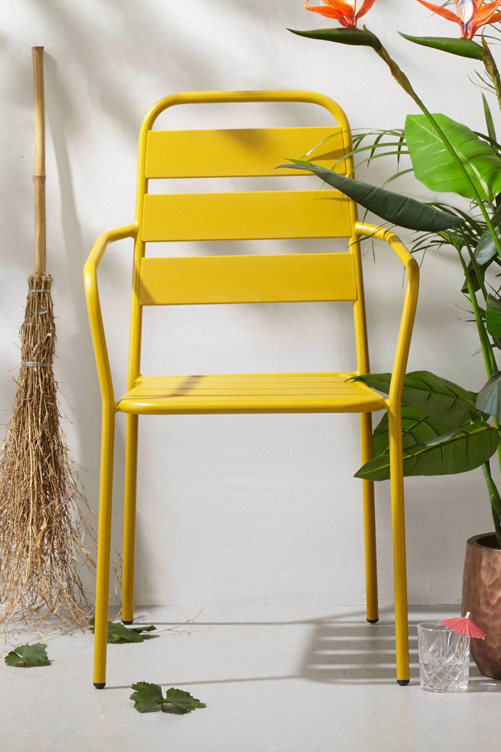 whkmp's own tuinstoel Lucca, Honing geel