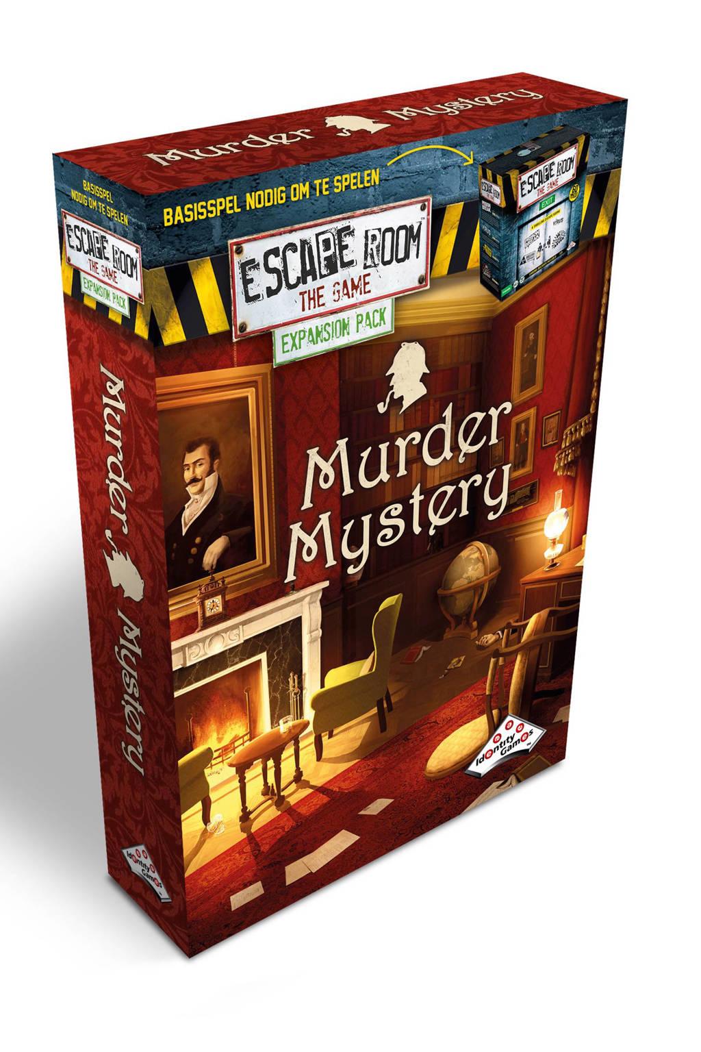 Identity Games Escape Room The Game Murder Mystery uitbreidingsspel