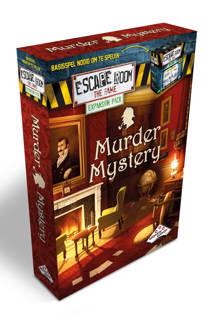 Escape Room The Game uitbreidingsset Murder Mystery Uitbreidingsspel