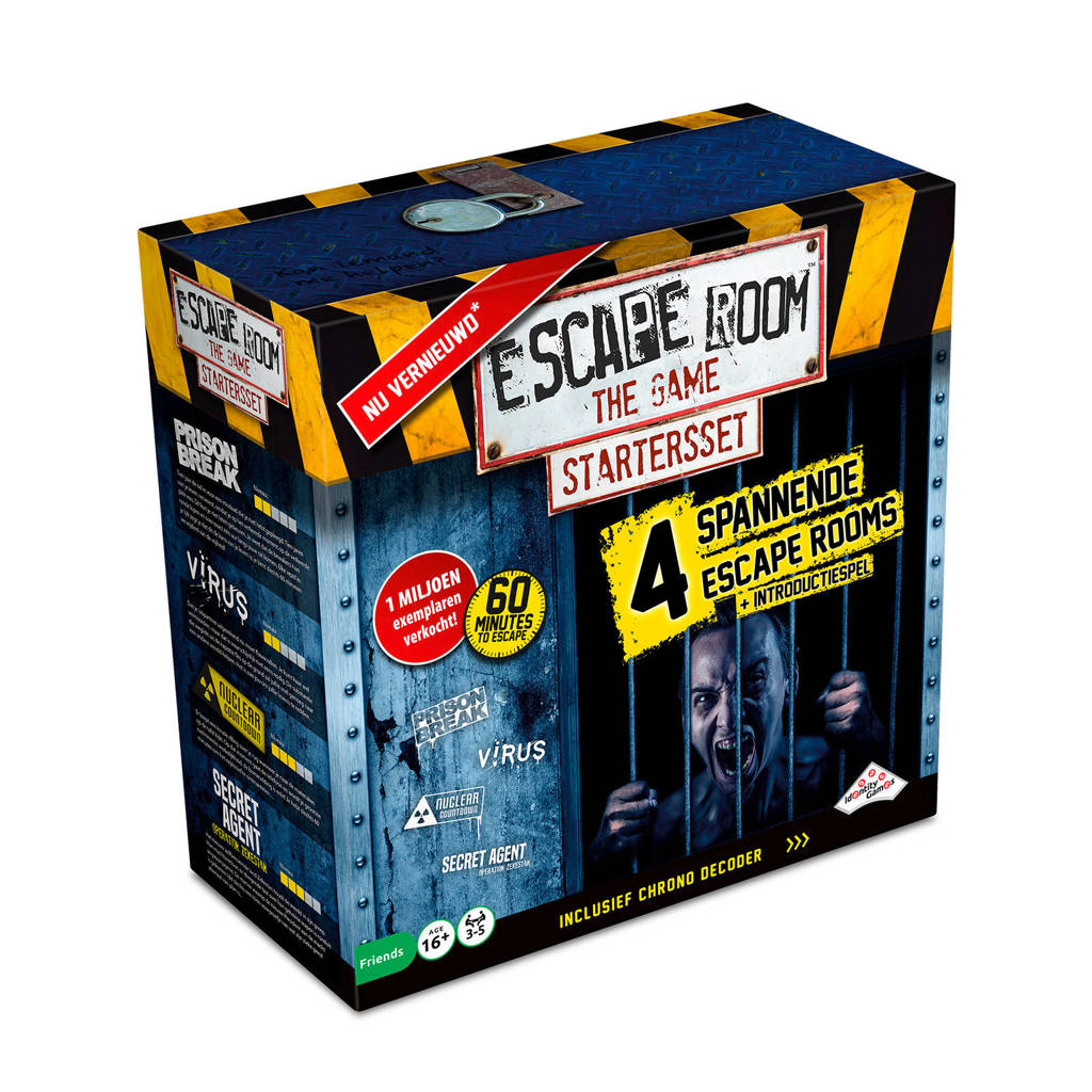 Identity Games Escape Room The Game bordspel