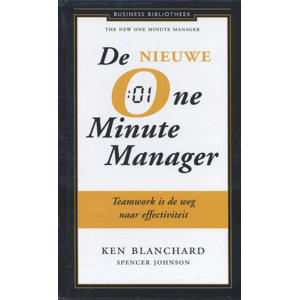 Business bibliotheek: De nieuwe one minute manager - Kenneth Blanchard en Spencer Johnson