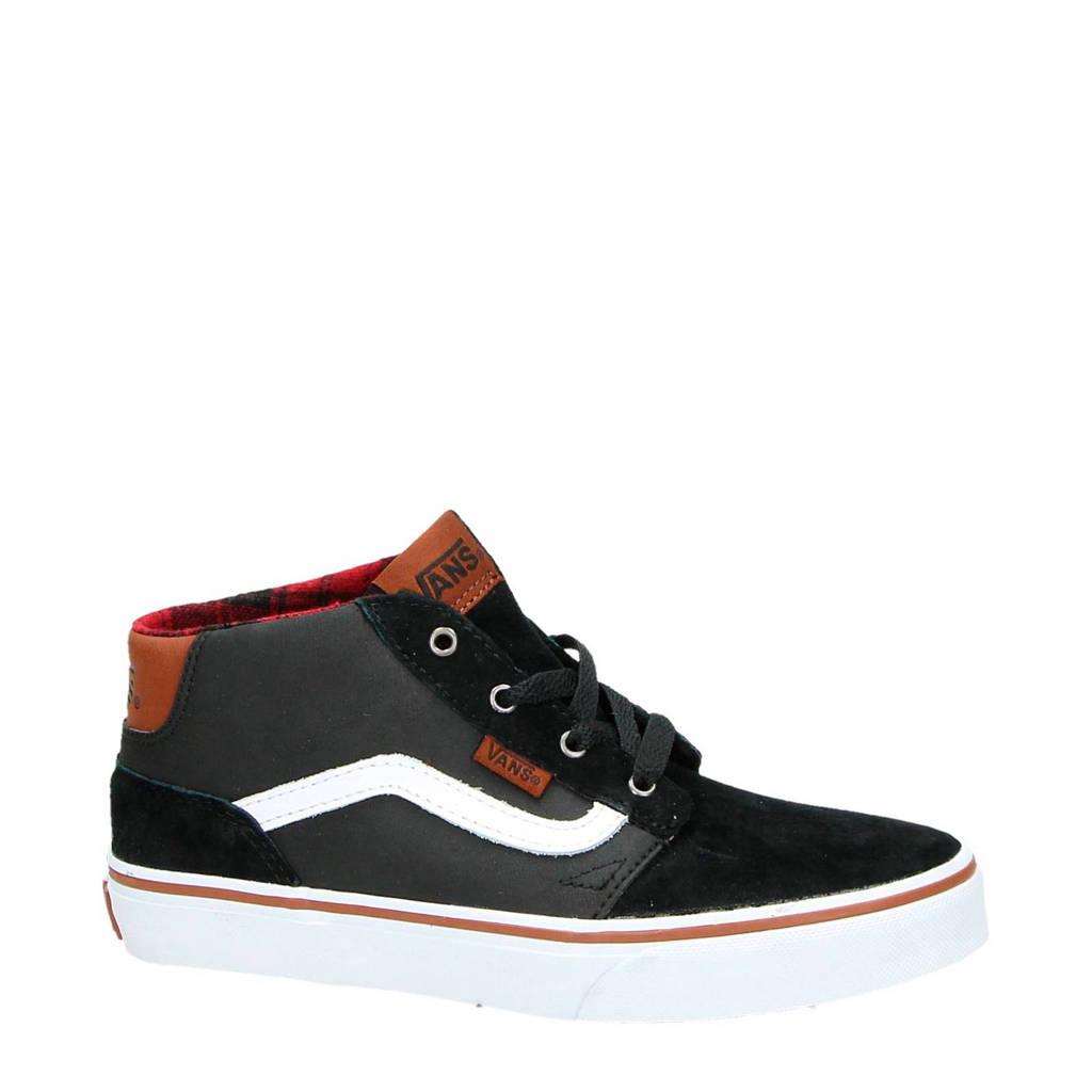2ce23fa0232 VANS leren sneakers, Zwart/wit