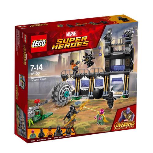 LEGO® Marvel Super Heroes Corvus Glaive Thresheraanval 76103