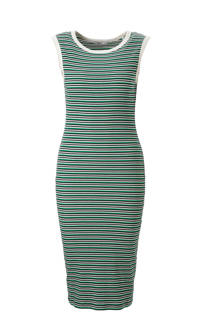 edc Women midi jurk met streepdessin