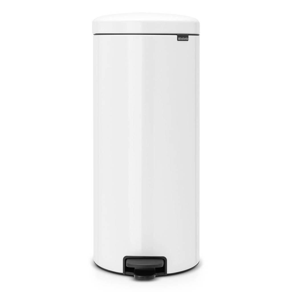Brabantia newIcon pedaalemmer, 30 liter, White