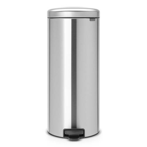 Brabantia New Icon Pedaalemmer 30L Matt Steel