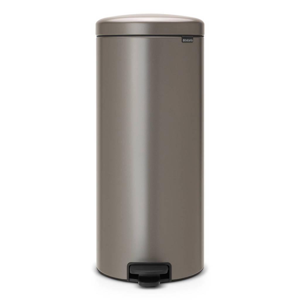 Brabantia newIcon pedaalemmer, 30 liter, Grijs