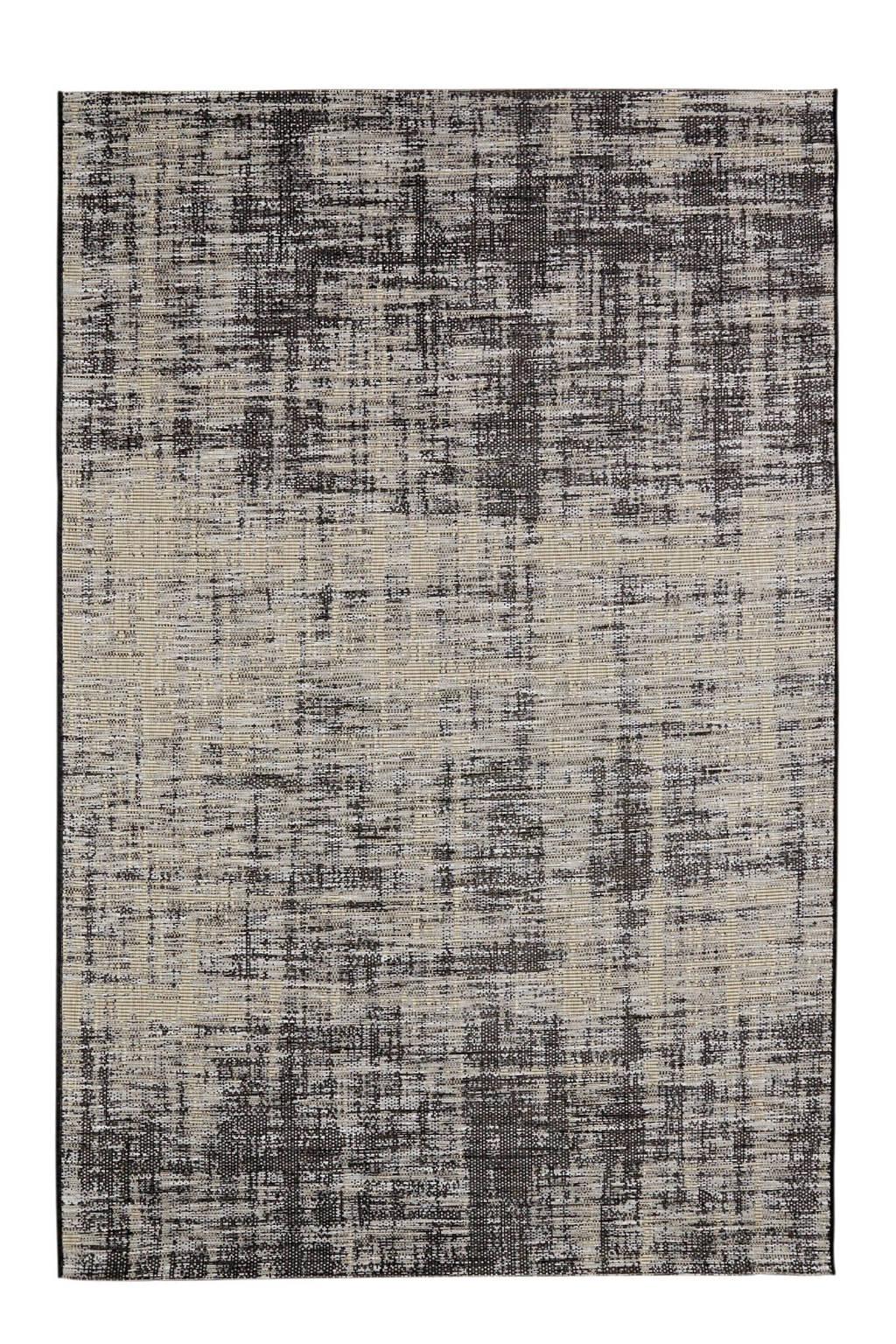 whkmp's own binnen- en buitenvloerkleed  (160x230 cm), Zand, Grijs