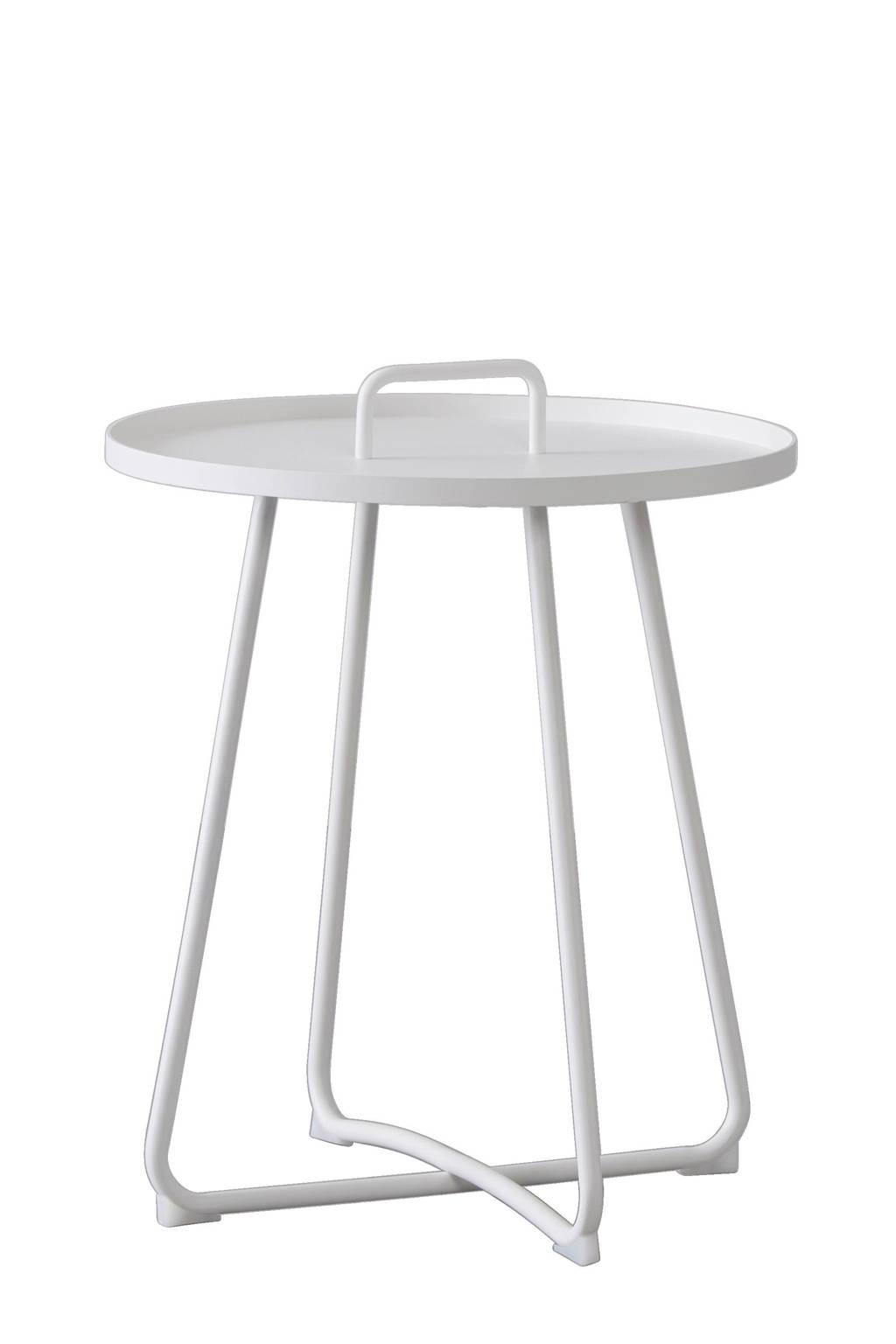 SenS-Line bijzettafel Jennifer (ø50 cm), Wit