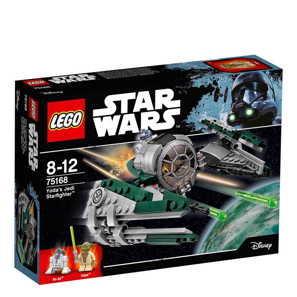 LEGO Star Wars Yoda's Jedi Starfighter 75168