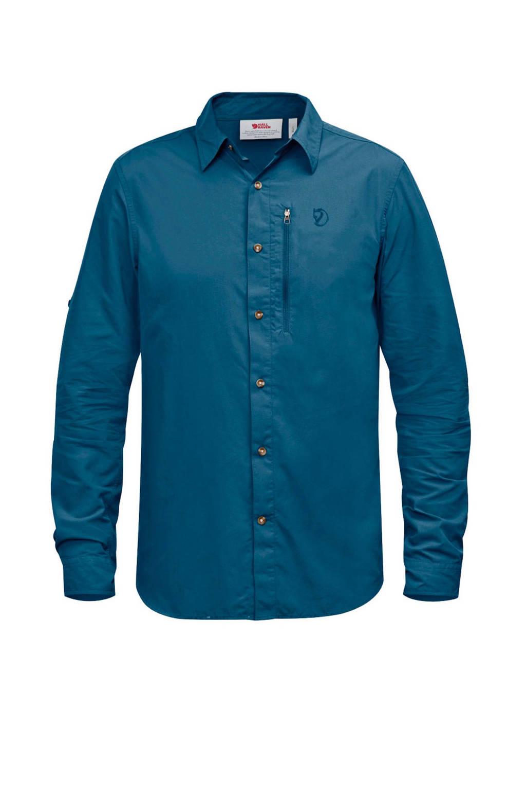 Fjällräven Abisko Hike outdoor overhemd, Blauw