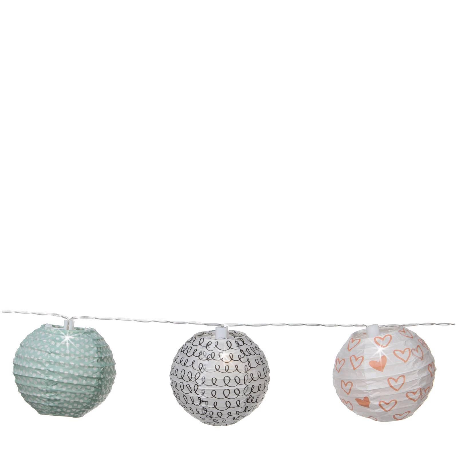 House of Seasons lampionverlichting (snoer 8 stuks) | wehkamp