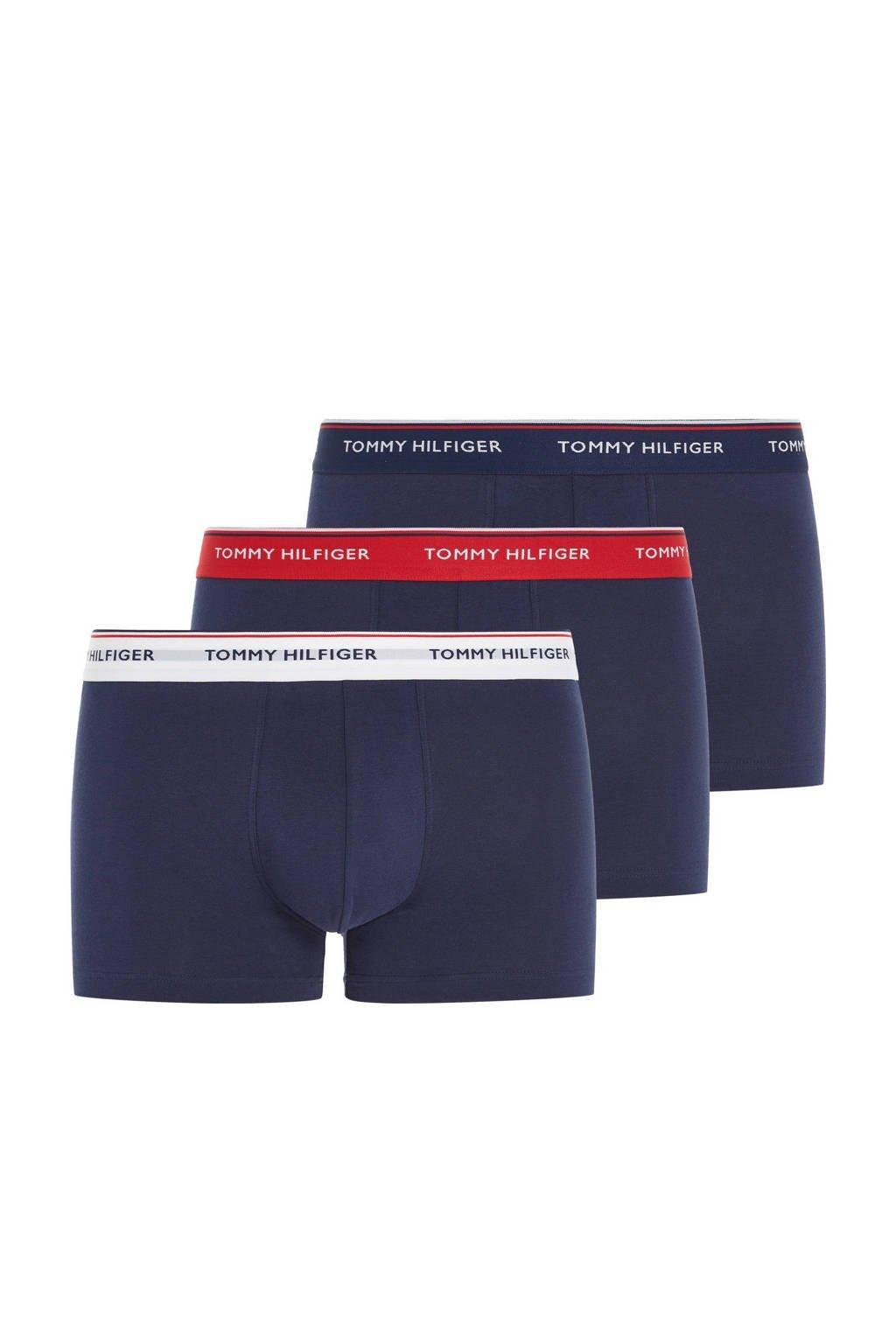 Tommy Hilfiger boxershort (set van 3), Donkerblauw