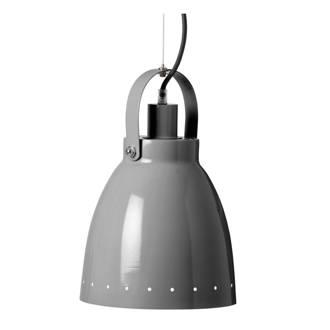 metalen hanglamp grijs