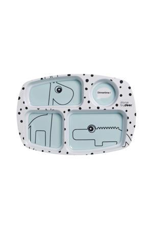 Happy Dots compartimentenbord blauw