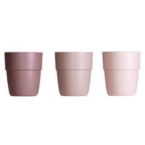 Yummy mini mok 120 ml roze (3 stuks)
