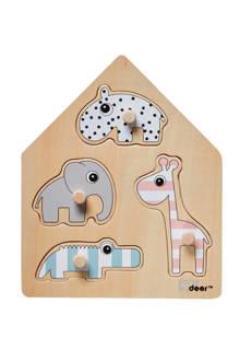 friends  houten vormenpuzzel 4 stukjes