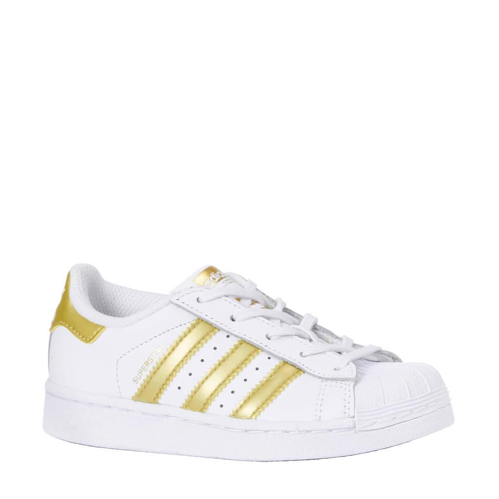 451e7dee6a8 adidas originals Superstar Foundation C sneakers, Wit/goud