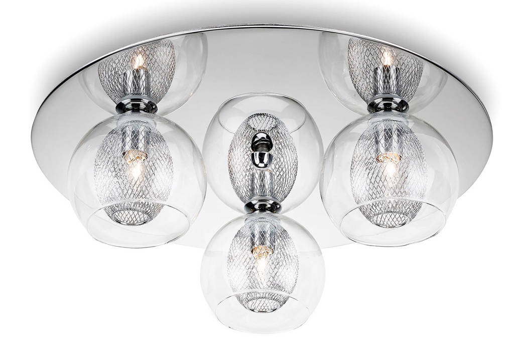 Philips plafondlamp, Chroom