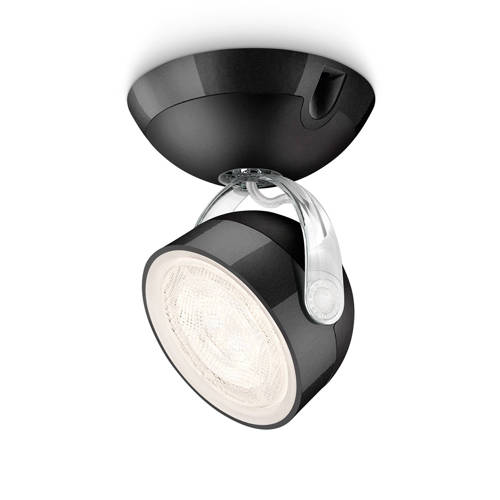 energie A+, LED-spot myLiving Dyna I zwart 1 lichtbron, Philips