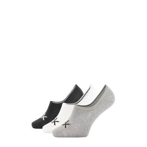 Calvin Klein sneakersokken - 3 paar kopen