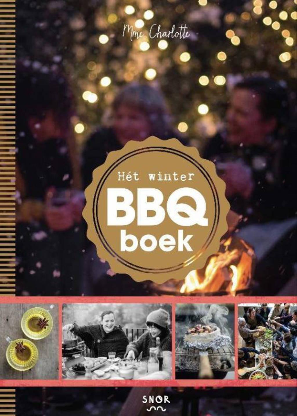 Het winter BBQ-boek - Charlotte Fielmich