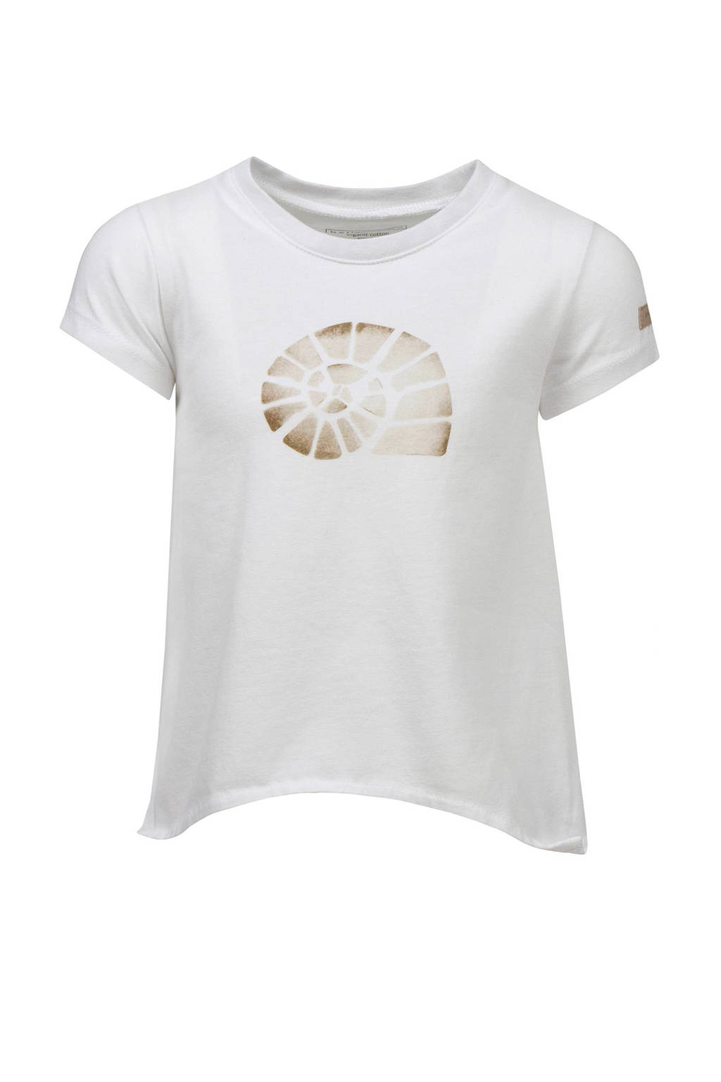 bellybutton T-shirt, Wit