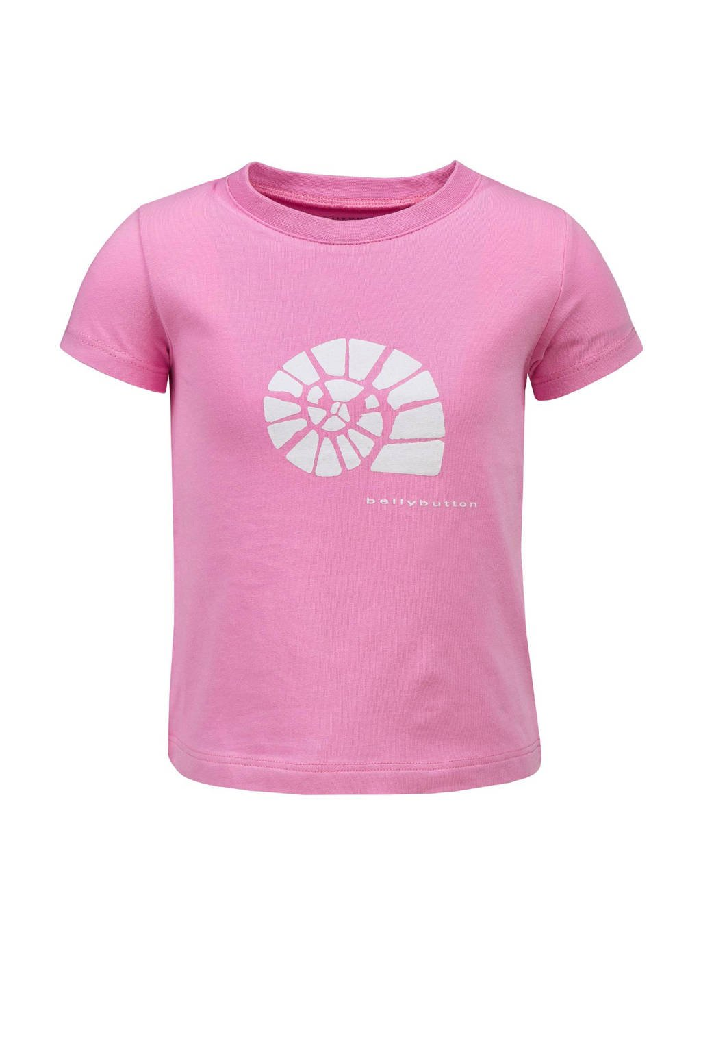 bellybutton T-shirt, Roze