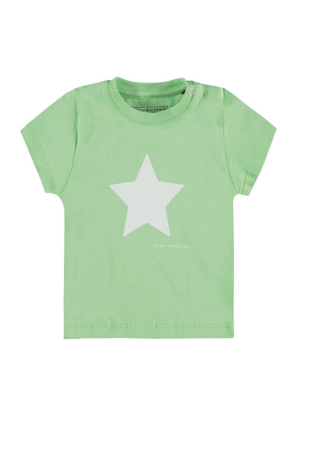 bellybutton T-shirt, Groen