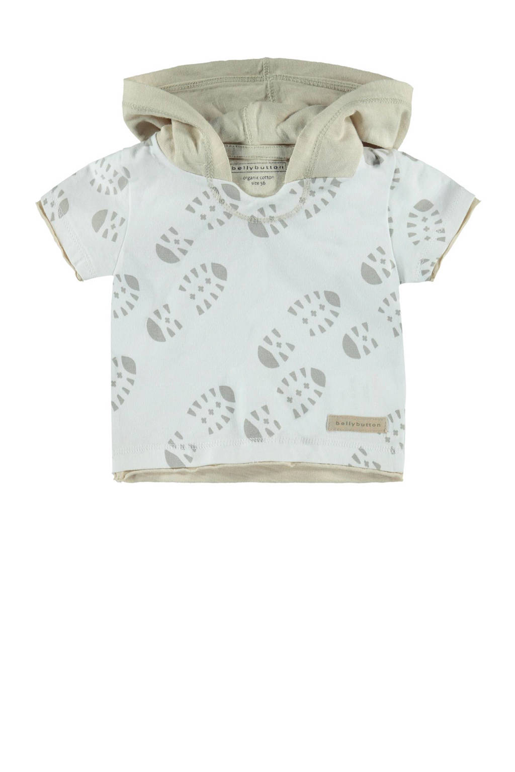 bellybutton T-shirt, Naturel wit/beige