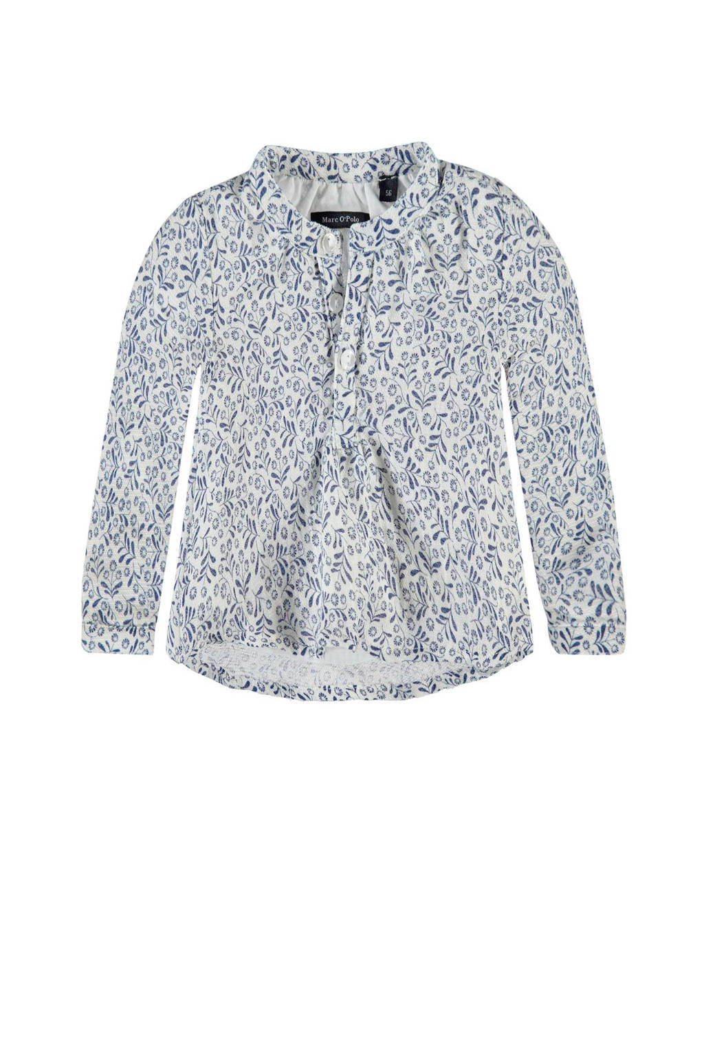 Marc O'Polo blouse, Blauw/wit