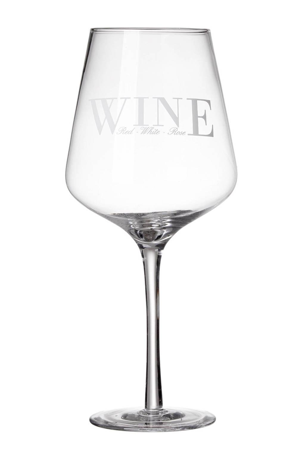 Riviera Maison wijnglas Perfect (Ø6,5 cm), Transparant