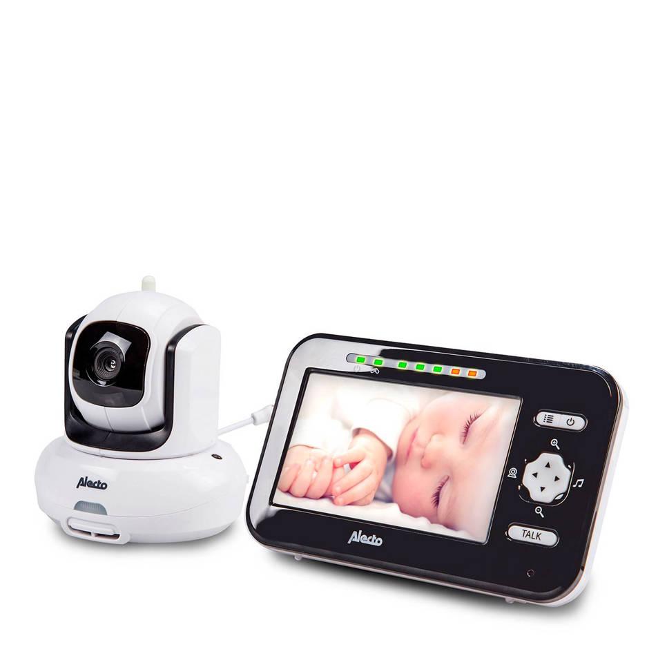 """Alecto DVM-370 babyfoon met camera en 4.3"""" kleurenscherm, Zwart, wit"""