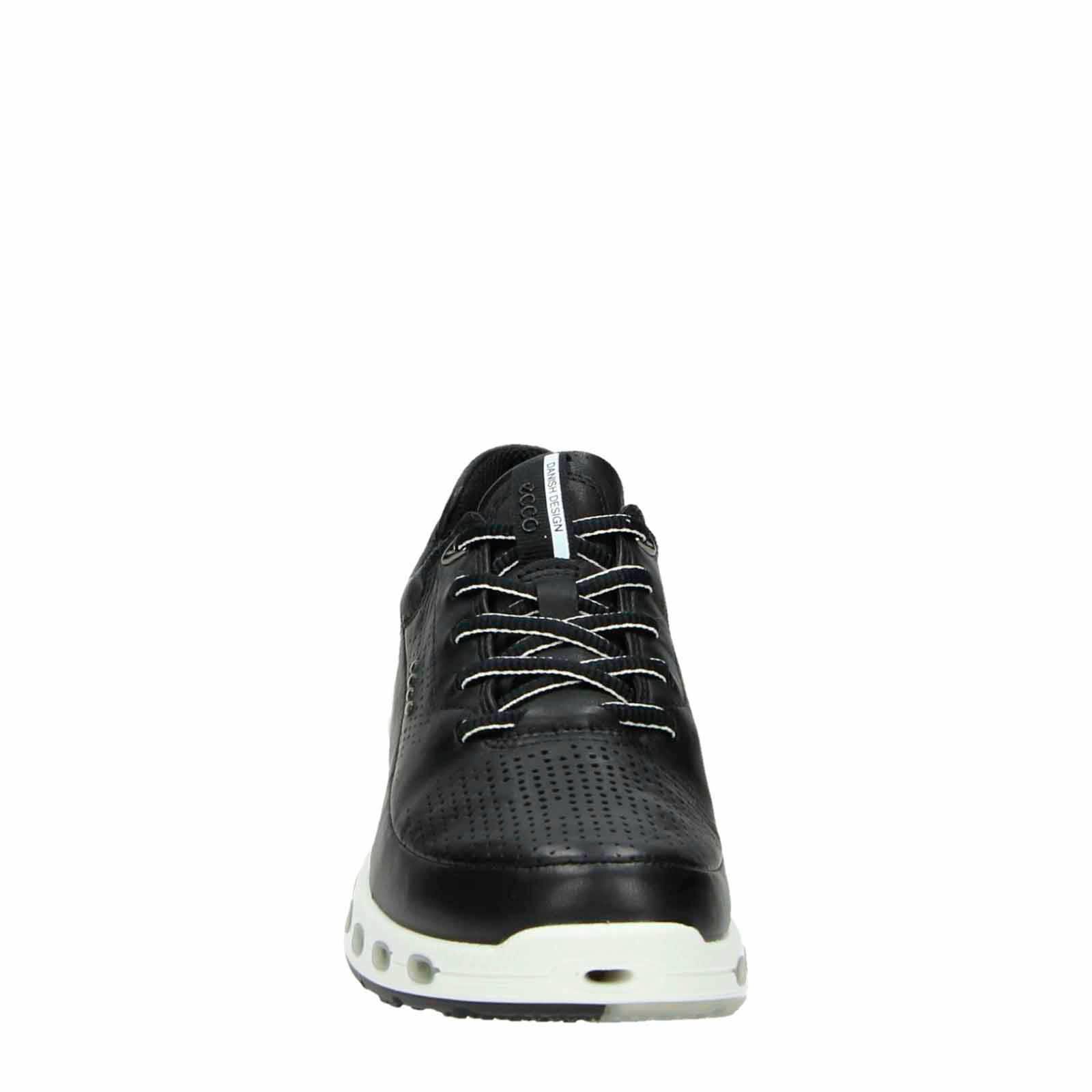 Ecco leren sneakers Cool 2.0 zwart | wehkamp