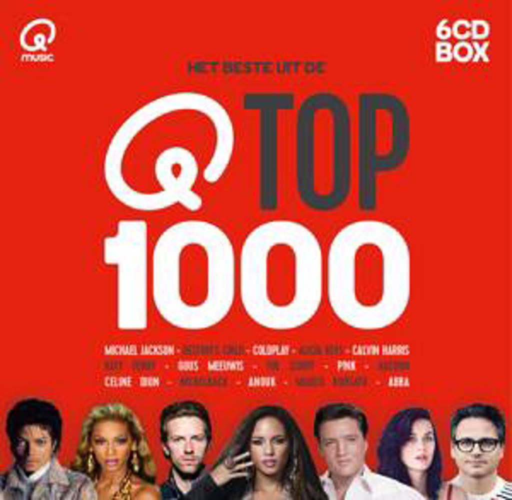 Various - Qmusic Top 1000 (2016) (CD)