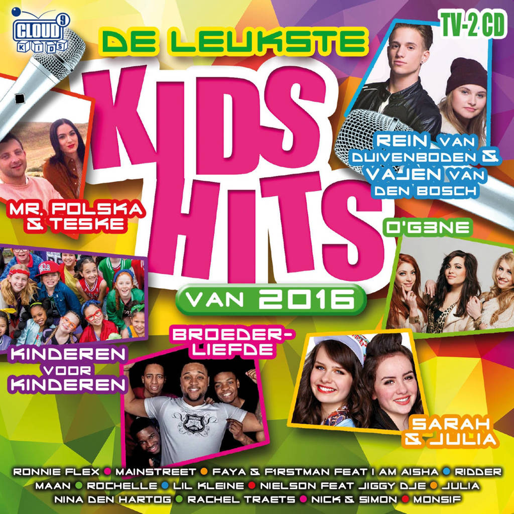 Various Artists - De Leukste Kids Hits Van 2016 (CD)