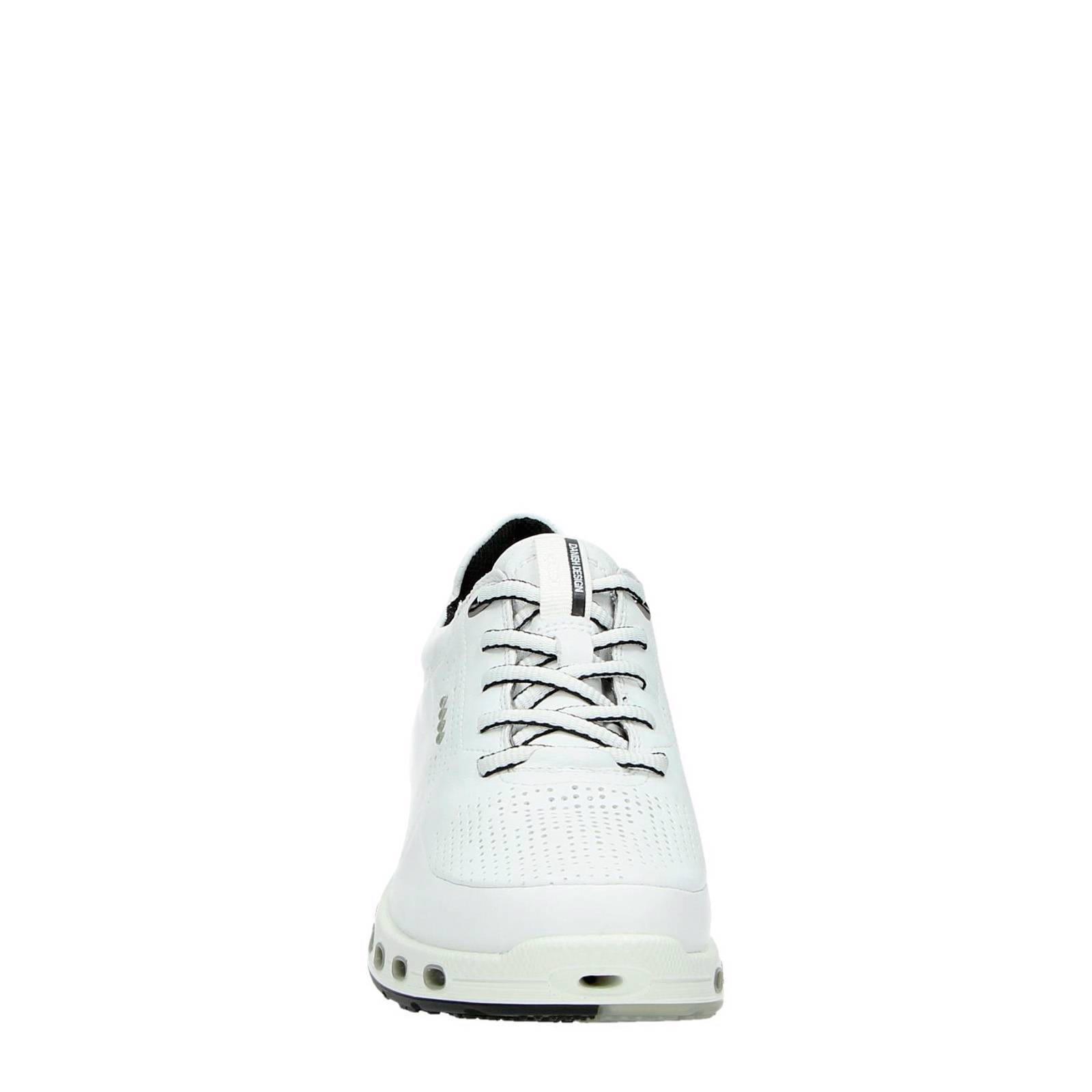 Ecco leren sneakers Cool 2.0 wit | wehkamp