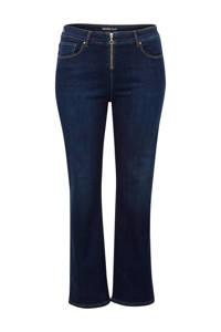 Miss Etam Plus bootcut jeans 32 inch, Dark denim