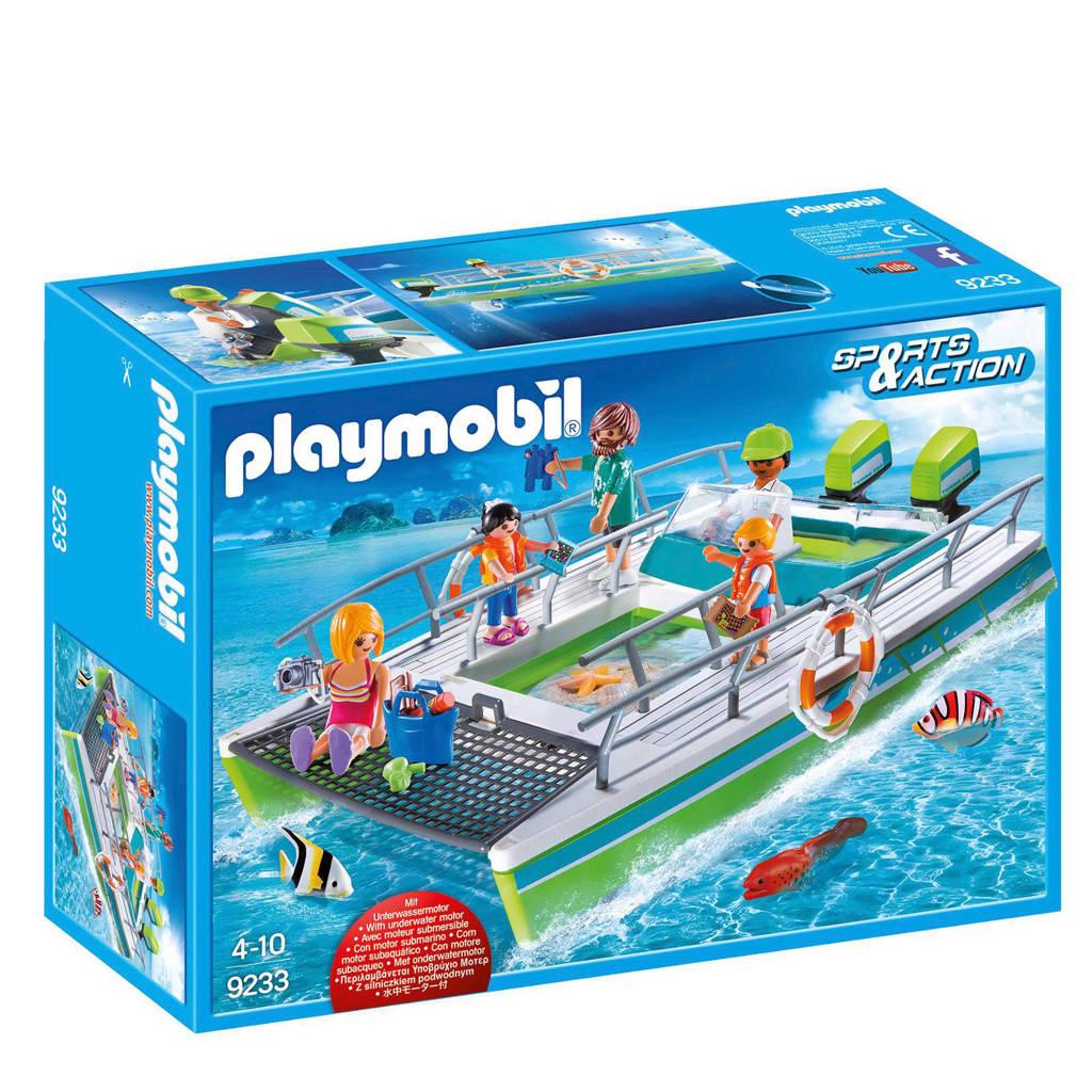 Playmobil Sports Act glasboot met onderwatermotor 9233