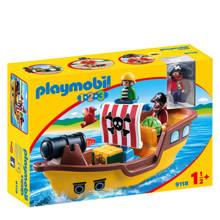 1-2-3 piratenschip 9118